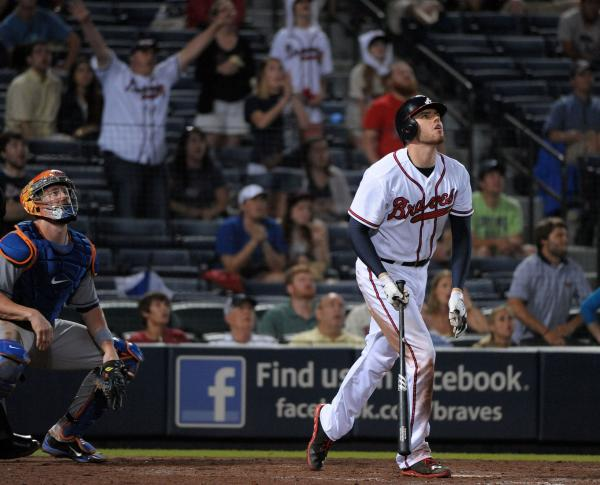 MLB: Atlanta 2, New York Mets 1