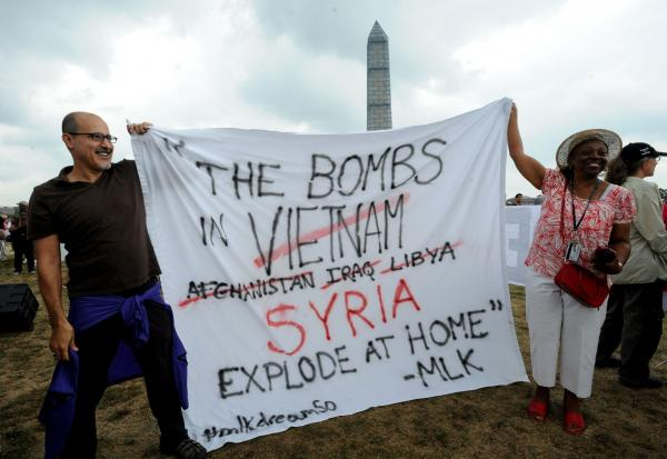 Poll: Majority say congressional OK is needed for action in Syria
