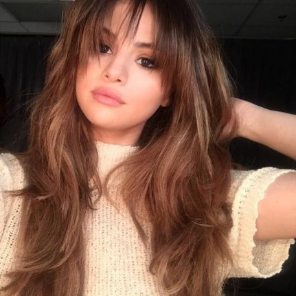 Hairstyle With Bangs emma stone short hairstyle short bob haircuts for bangs Selena Gomez Got New Feathery Bangs This Week Photo By Marissa Marinoinstagram