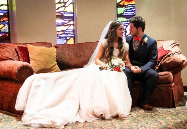 A Special Wedding Gift For Jessa : Jessa Duggar shares 100 new wedding photos - UPI.com