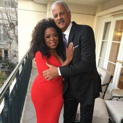 How long has oprah been dating stedman