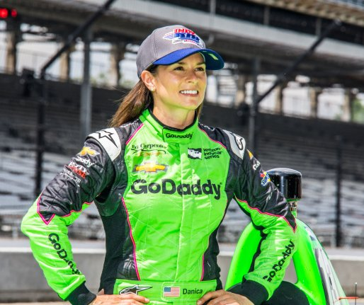 Danica Patrick emailed Aaron Rodgers for years before they began dating
