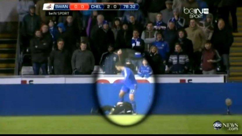 Chelsea star Eden Hazard kicks ball boy Charlie Morgan ...