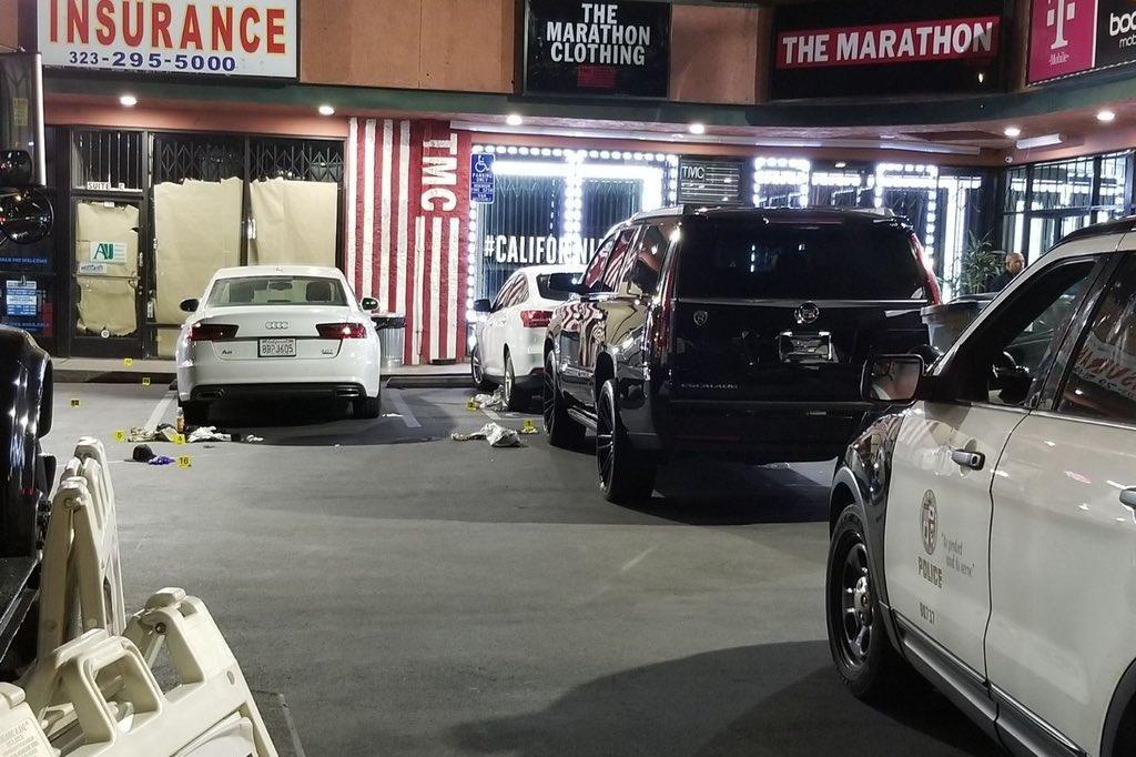 1 Dead 2 Injured In Shooting Outside Nipsey Hussle S