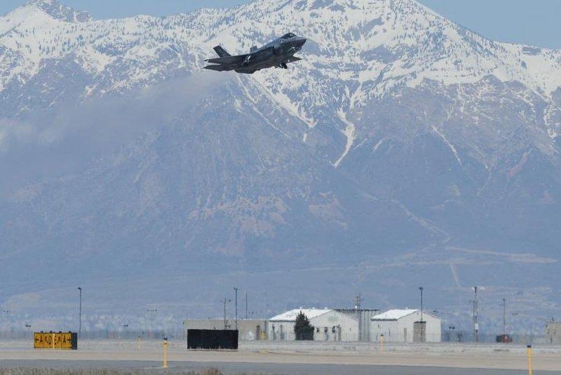 Republic, F-84 Thunderstreak, Hill Air Force Base, Ogden