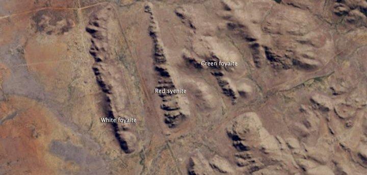 landsat 8 cam reveals unique south african landforms upicom