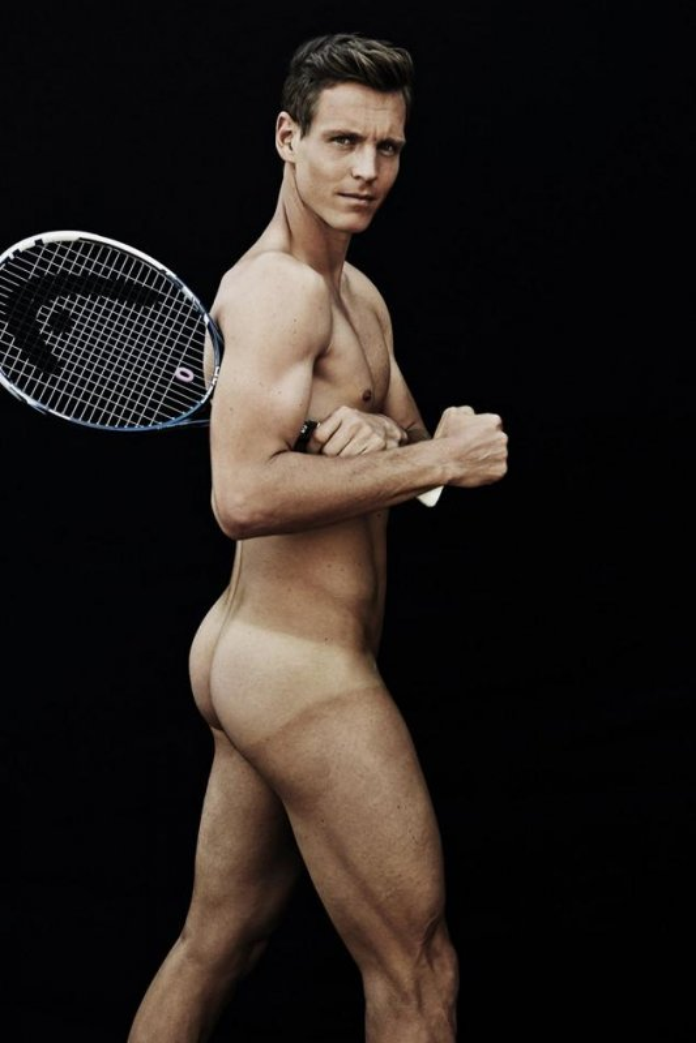 Venus Williams, Tomas Berdych Appear Nude In Espns Body -7909