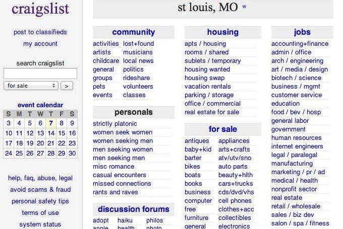 Craigslist man seeking women