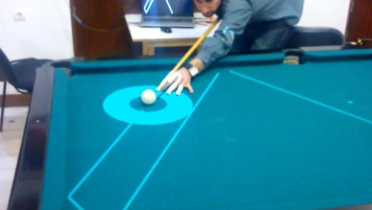 Meet PoolLiveAid The Projector That Creates Realtime Predictions - Pool table help