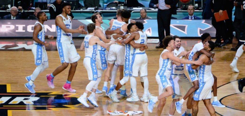 Final Four: North Carolina Tar Heels beat Gonzaga Bulldogs ...