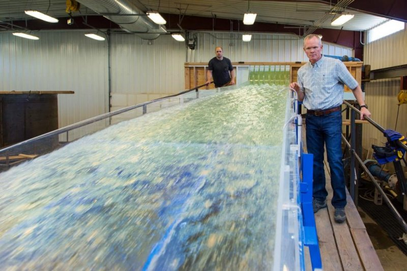 Scale model of Oroville Dam helps repair damaged spillway - UPI com