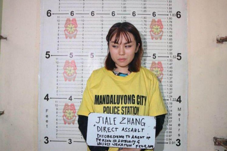 Chinese woman faces deportation in Philippines after pudding toss