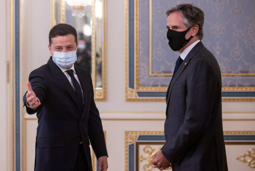 Blinken: U.S. supports Ukraine against Russian aggression