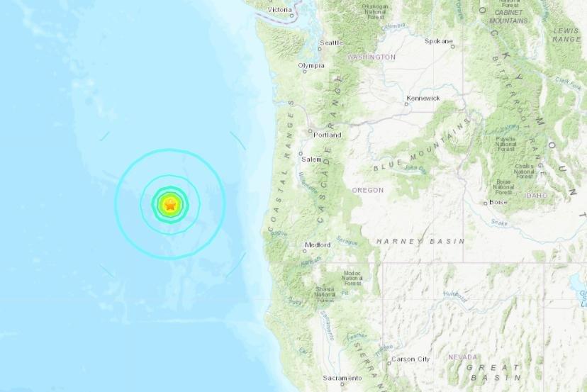 6 3-magnitude earthquake strikes off Oregon coast - UPI com