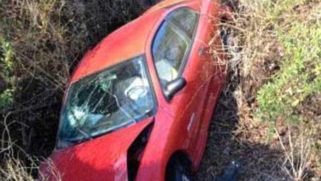 body in towed car found three days after crash   upi
