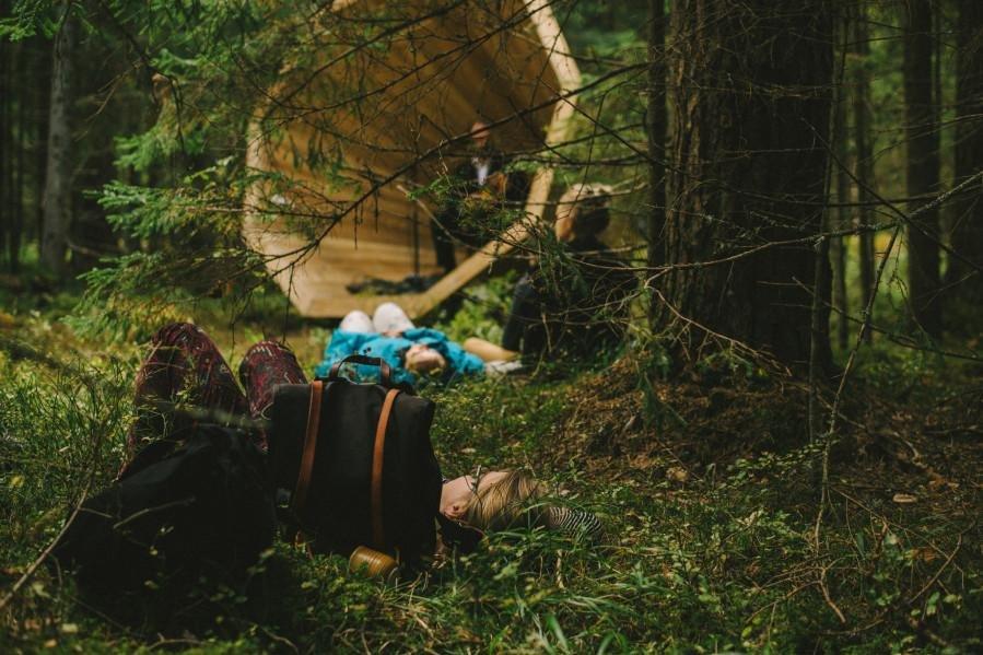 Look: Wooden megaphones installed in Estonia forest - UPI com