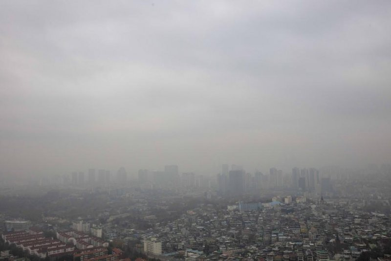 south korea smothered in chinese air pollution
