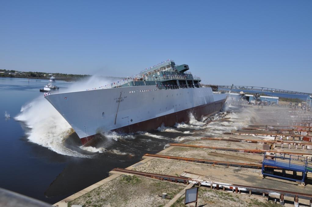 U.S. Navy accepts delivery of USNS Maury - UPI.com
