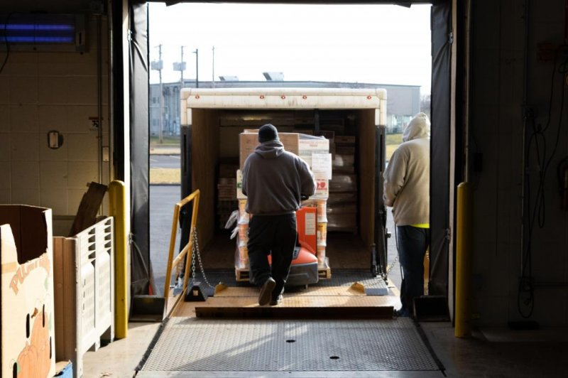 Food banks burst with food normally exported to China