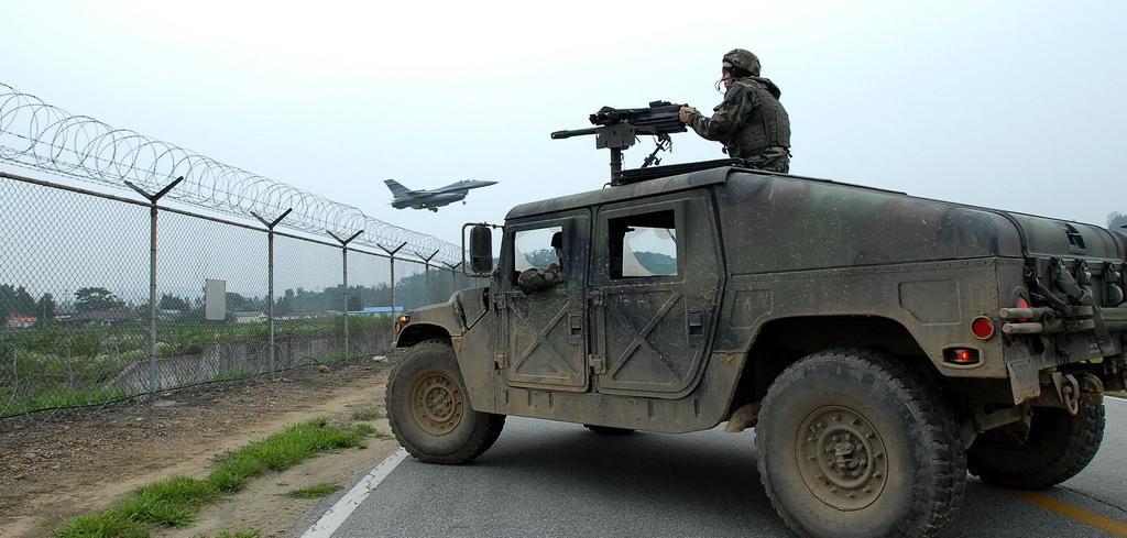south korea police arrest crime ring for us humvee theft
