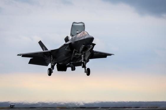 Britain to start construction for U.S. F-35s at RAF Lakenheath