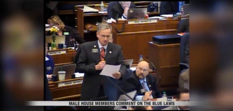 Dealerships Open On Sunday >> Watch: Lawmakers blasted for sexist comments during Blue ...