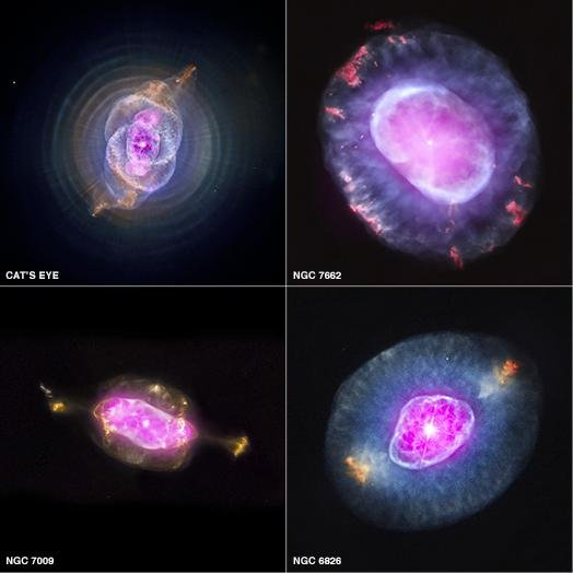 Nasa releases dramatic nebula images for Nasa press release