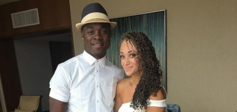 Kansas City Chiefs Jeremy Maclin Married Celebrates With