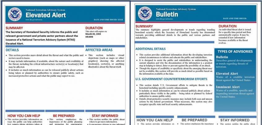 DHS updates terror alert system with new advisory 'bulletin' - UPI.com
