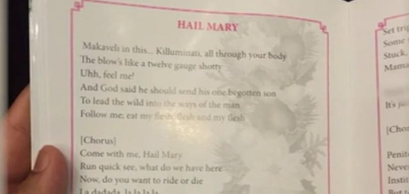 260e55f723ef8d 27 (UPI) -- A priest in Sri Lanka apologized after the program for one of  the country's largest Christmas services contained Tupac lyrics instead of  the ...