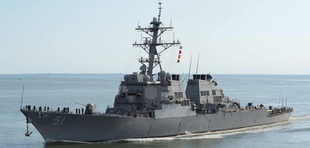 Destroyer Modernization Contract Extended Upi Com