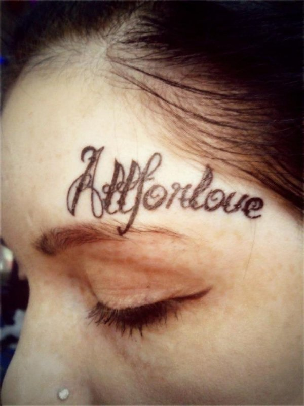 Face Tattoo After First Date Upi Com