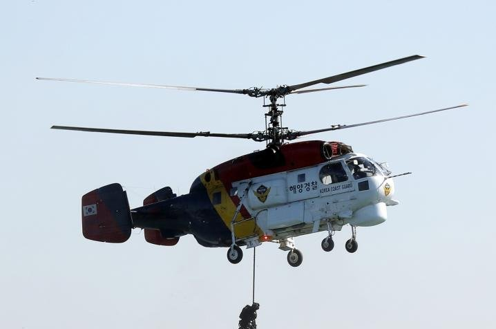 South Korean and Japanese fishing vessels crash, crew rescued