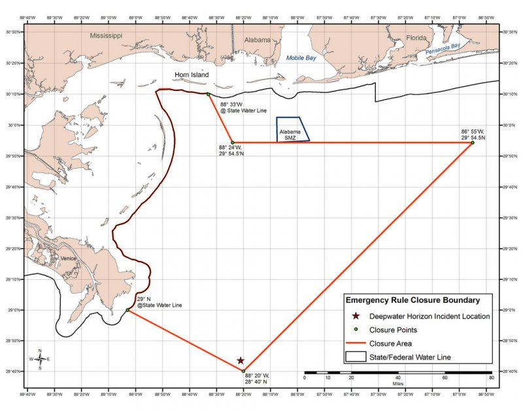 Oil spill restricts fishing in U.S. Gulf - UPI.com