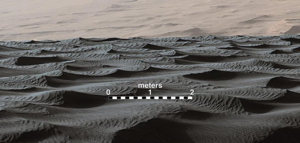 Unique type of sand dune discovered on Mars - UPI.com