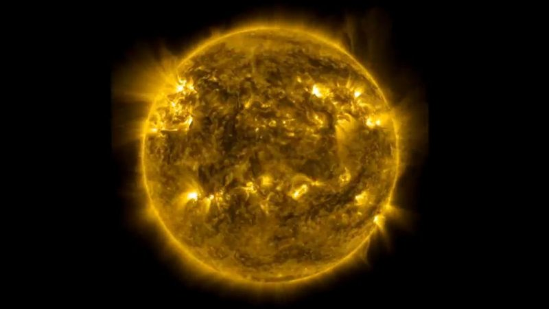 New NASA video shows three years of Sun in three minutes ...