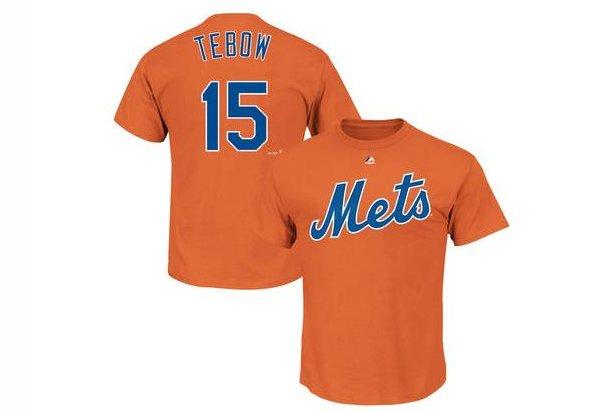 hot sale online 53368 30661 Tim Tebow New York Mets top leads MLB.com jersey sales - UPI.com