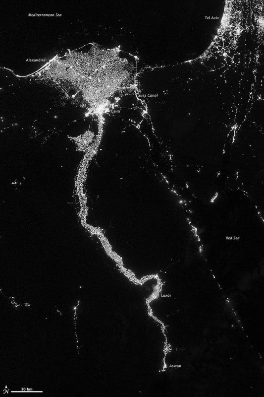 """NASA unveils gorgeous new """"Black Marble"""" images of Earth ..."""