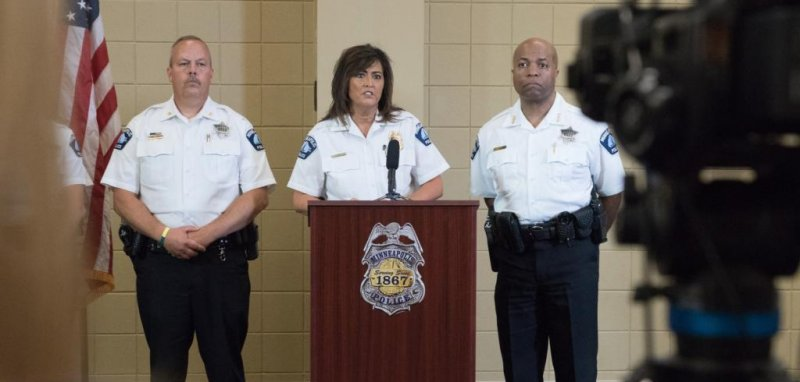 Minneapolis police Chief Janee Harteau resigns