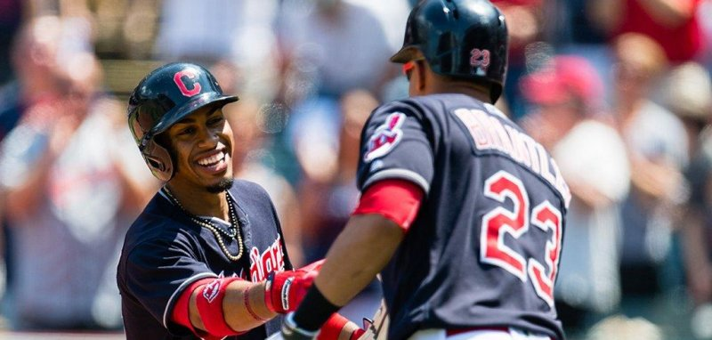 sports news enough cleveland indians rout seattle mariners behind sixth inning