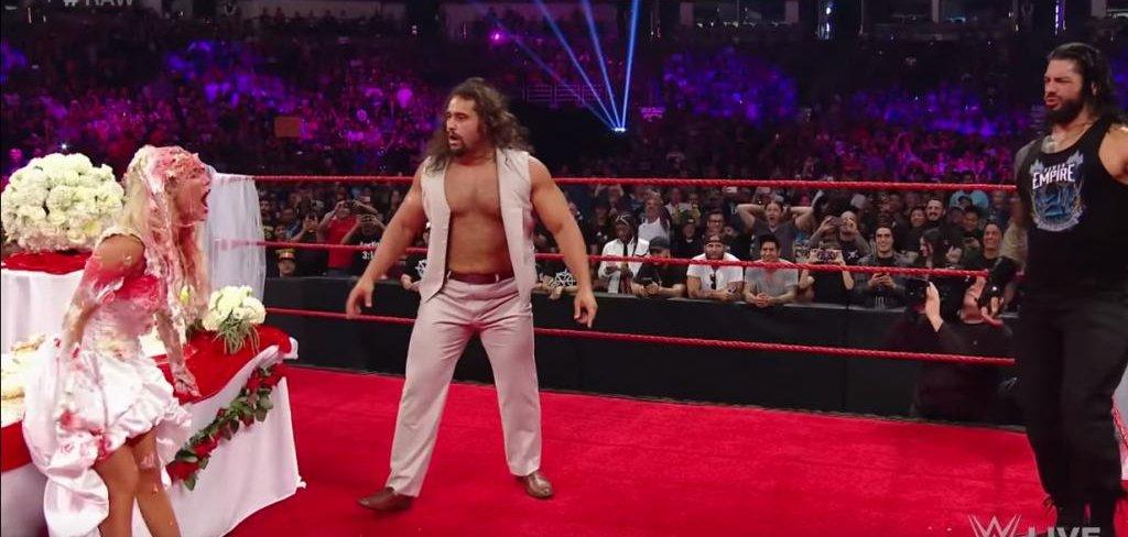 Roman Reigns Crashes Rusev And Lana S Wedding Celebration