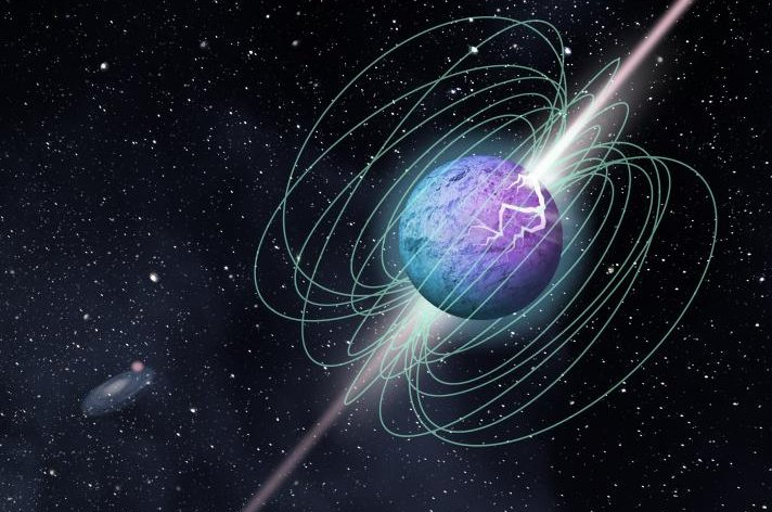 Canadian astronomers detect intense radio burst inside the Milky Way.