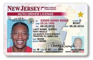 - On Jersey's Hold Upi New Driver's com Licenses