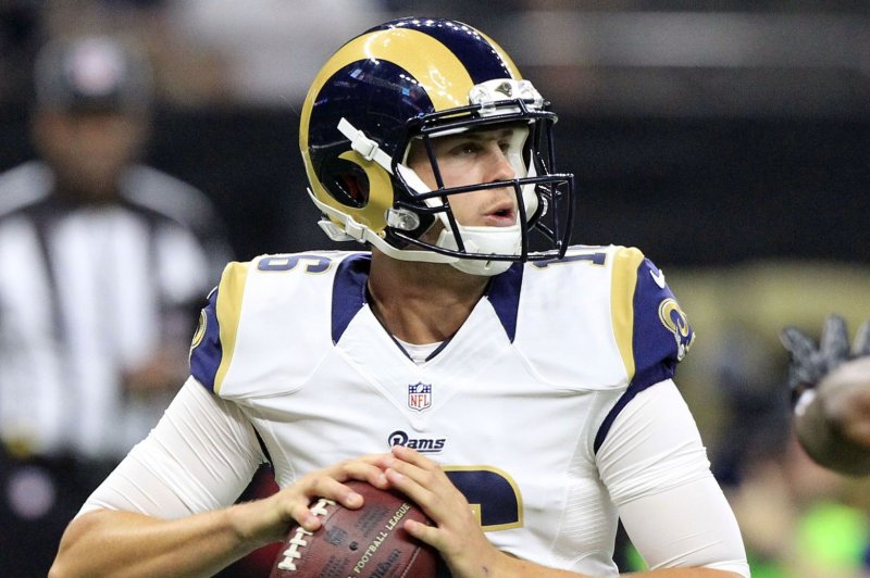 Los Angeles Rams Qb Jared Goff Already Better Off In Year