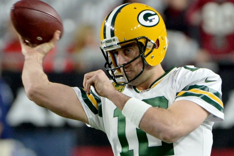 best service cbd1f 56a3c Green Bay Packers QB Aaron Rodgers on Hail Mary success ...