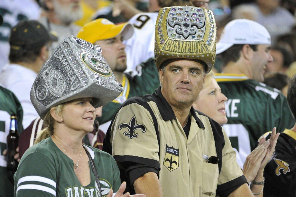 Packers Super Bowl Ring Foam Hat