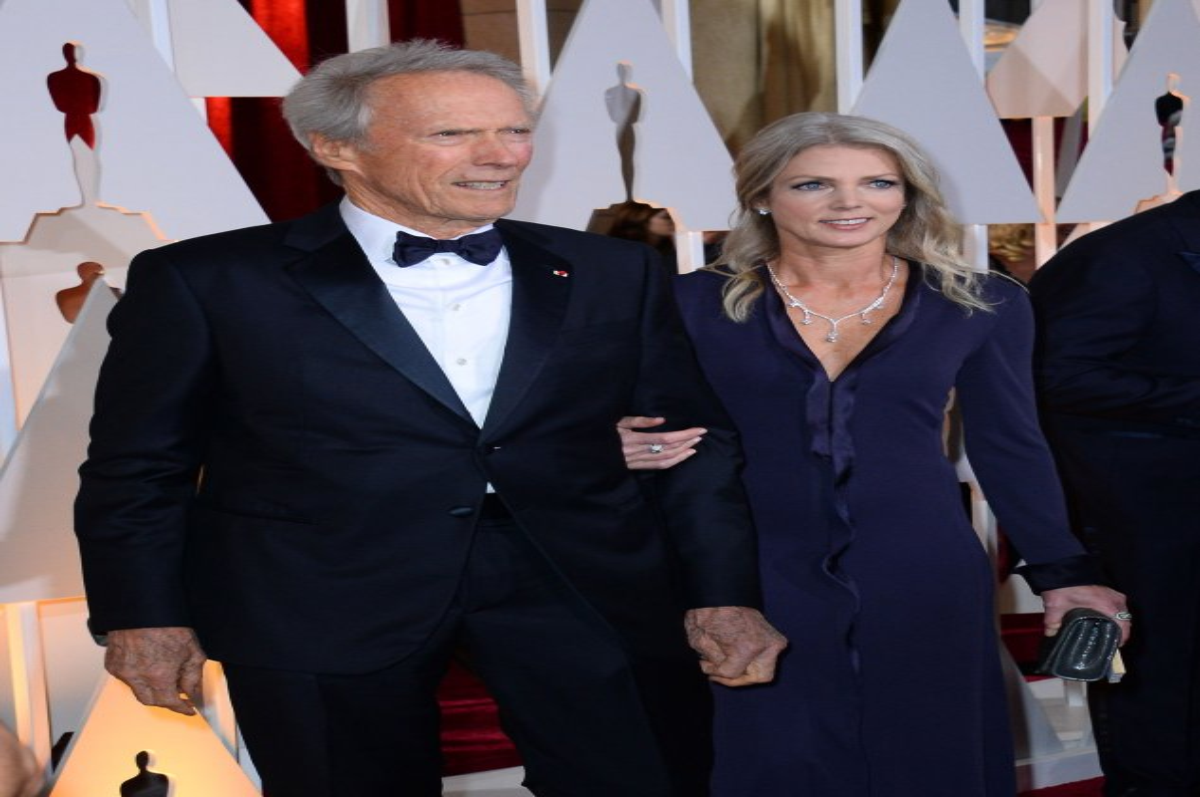 Clint Eastwood Girlfriend Christina Sandera Attend 2015