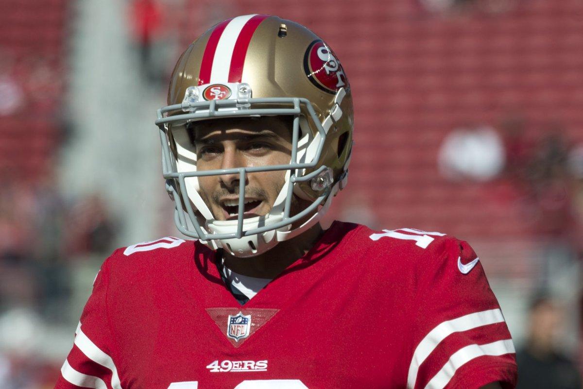 rssfeeds.usatoday.com Fantasy Football  San Francisco 49ers name Jimmy  Garoppolo starting QB ec3f82591