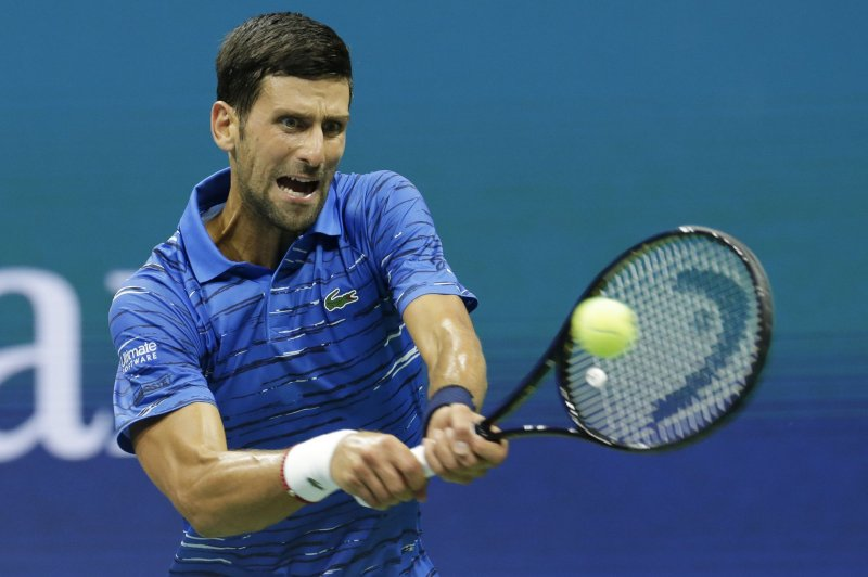 Watch Top Seed Novak Djokovic Pulls Out Of U S Open With Shoulder Injury Upi Com