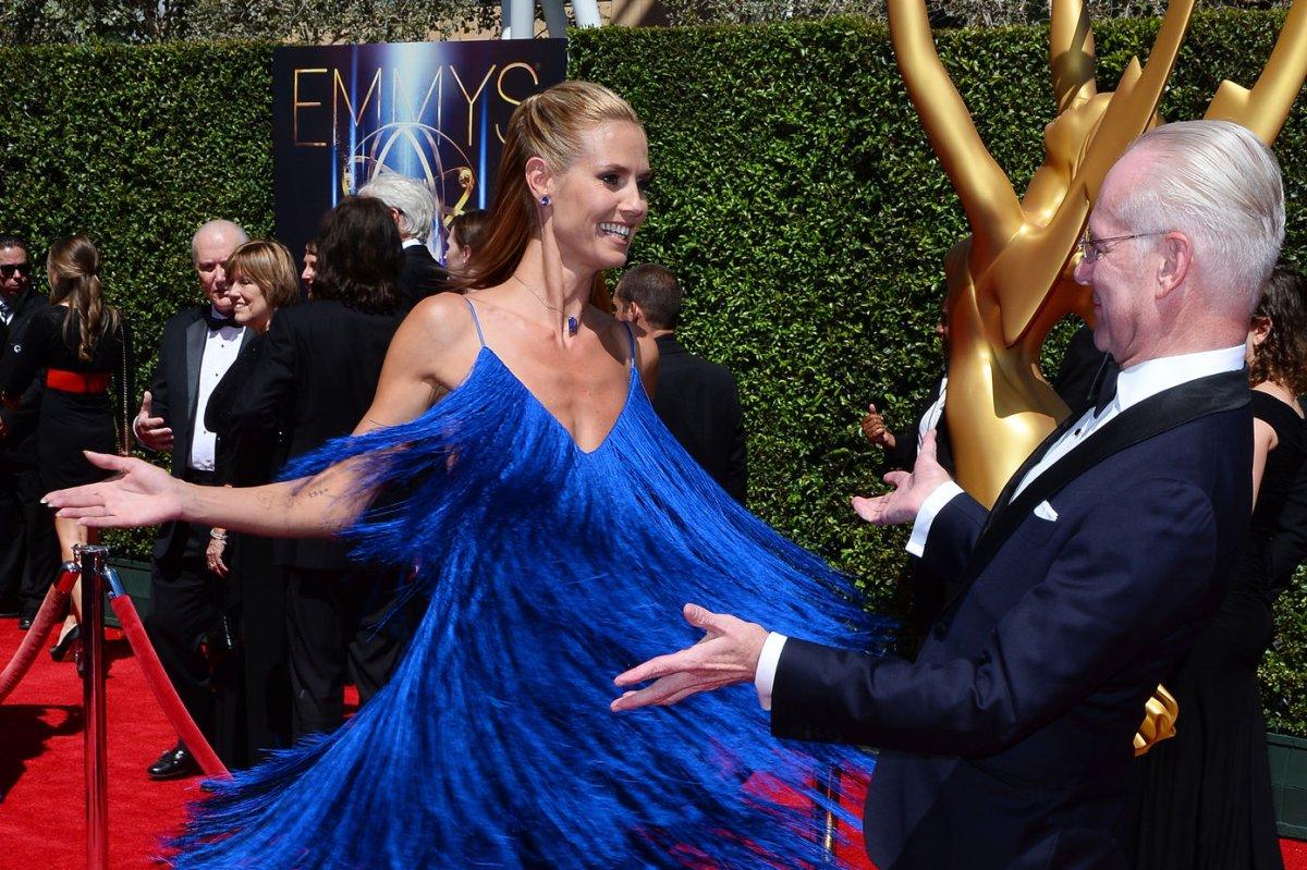 Las Vegas Bans Heidi Klums Sharper Image Ads for Being